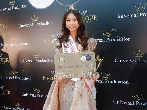 Chân dung bé gái Việt đăng quang Hoa hậu Hoàn vũ nhí