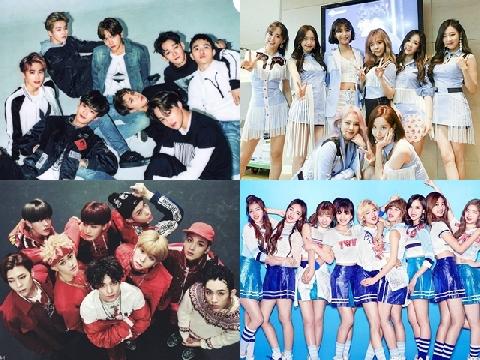 Những nhóm nhạc Kpop toàn thiếu gia, tiểu thư nhà giàu