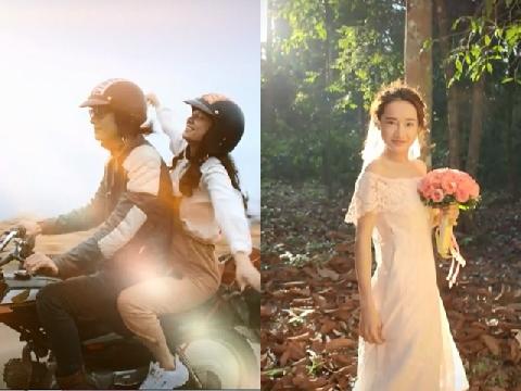 Mặc váy cưới, Nhã Phương đẹp xuất sắc nên duyên cùng Nhan Phúc Vinh