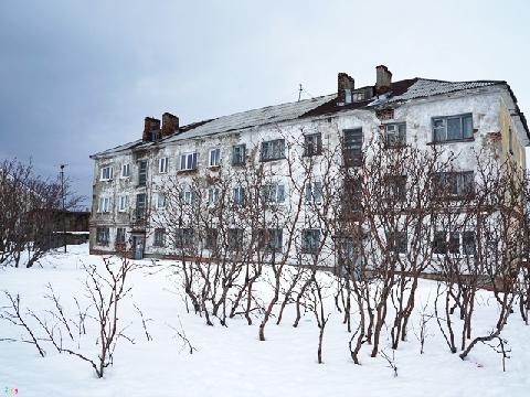 Làng tuyết Teriberka