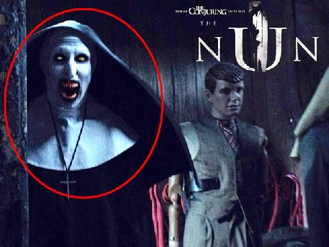 Chạy ngay đi, ác quỷ Valak đã trở lại trong 'The Nun'