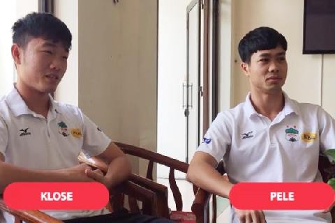 Công Phượng, Xuân Trường trả lời siêu tệ về kiến thức World Cup
