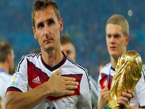 Miroslav Klose, chân sút vĩ đại nhất lịch sử World Cup