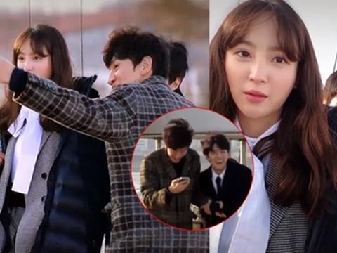 Sehun và Kwang Soo rủ nhau đi trêu gái siêu nhắng nhít
