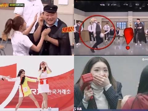 Chết cười với những tai nạn hài hước của sao Hàn