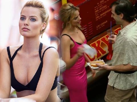 Lác mắt với chiêu trò 'móc túi' của 'bom sex' Margot Robbie