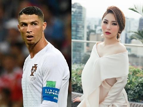 Phim chế: Bị loại khỏi World Cup, Ronaldo tới Việt Nam đóng MV với Hương Tràm