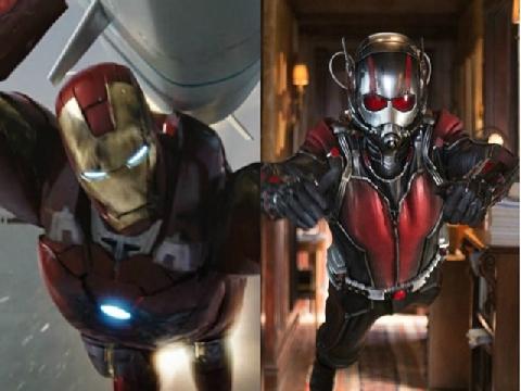 Ant-Man suýt chết khi đối đầu với Iron Man