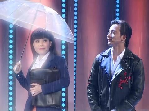 Việt Hương hóa 'em gái mưa' khiến Mai Tài Phến và dàn trai đẹp ngã ngửa