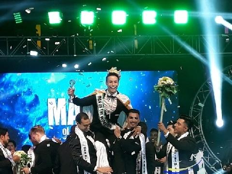 Đại diện Việt Nam đăng quang 'Siêu mẫu nam thế giới 2018'