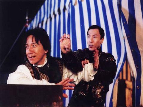 Hậu trường đấu võ gây sốt của Chân Tử Đan - Thành Long