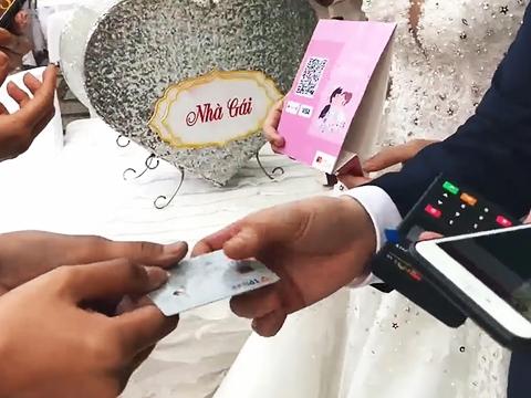Đám cưới quẹt thẻ thời 4.0 đã xuất hiện tại Việt Nam