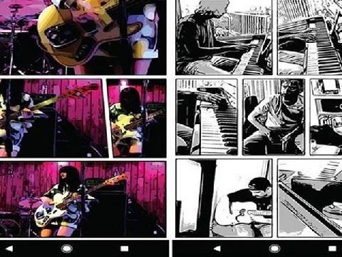 Tạo trang truyện tranh, selfie trắng đen trên ứng dụng chỉnh sửa ảnh của Google