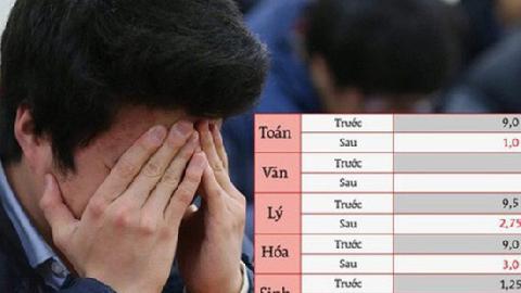 Lên mạng tố điểm thi cao bất thường, nhiều thí sinh Hà Giang bị đe dọa
