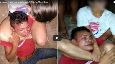 Đụng độ nhầm nữ võ sĩ MMA, tên cướp 'khóc ròng'