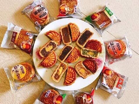 Bánh trung thu Trung Quốc 90.000 đồng/cân hạn dùng tới 3 tháng
