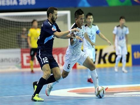 Thái Sơn Nam thắng kịch tính vào chung kết futsal châu Á
