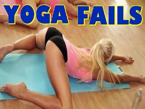 Chết cười với các tai nạn Yoga hài hước