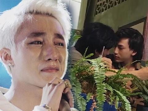 [Chế] Sơn Tùng 'khóc thút thít' khi thấy Isaac ôm hôn trai lạ