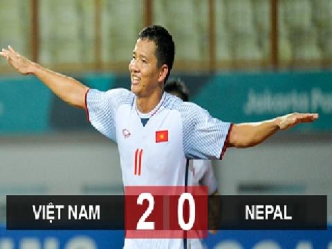 U23 Việt Nam 2-0 U23 Nepal (Vòng bảng ASIAD 2018)