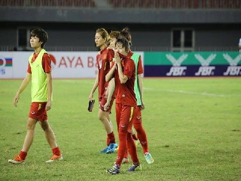 Nữ Việt Nam 0-0 Đài Loan (Vòng Bán kết ASIAD 2018)