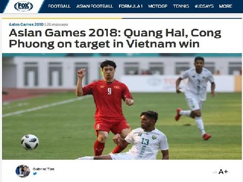 Báo châu Á ngưỡng mộ chiến thắng của Việt Nam trước Bahrain