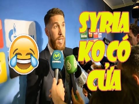 Chế: Ramos, Neymar nhận định về đối thủ Olympic Syria của Việt Nam