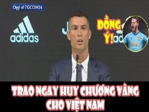 Chế: CR7, De Gea chúc mừng Olympic Việt Nam vào bán kết