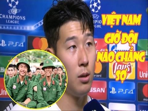 Hài: Son Heung-Min sợ gặp Việt Nam sẽ phải đi nghĩa vụ quân sự