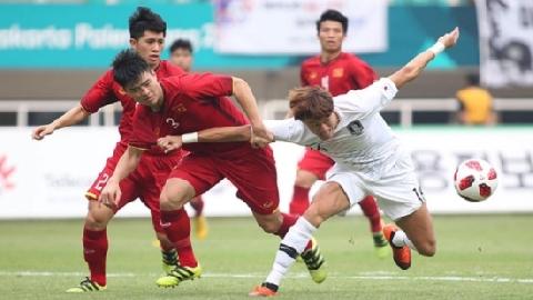 Olympic Việt Nam 1-3 Olympic Hàn Quốc (Bán kết Asiad 2018)