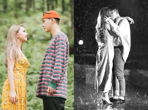 Châu Bùi hôn đắm đuối Decao trong màn mưa của ''Thanh Xuân''