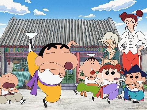 Shin - Cậu bé bút chì trở lại với võ thuật lợi hại trong 'Kung Fu Boys'
