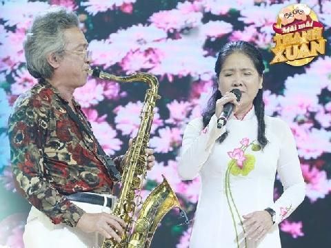 Cặp uyên ương U60 song ca tình tứ khiến Quyền Linh, Ốc Thanh Vân ngưỡng mộ
