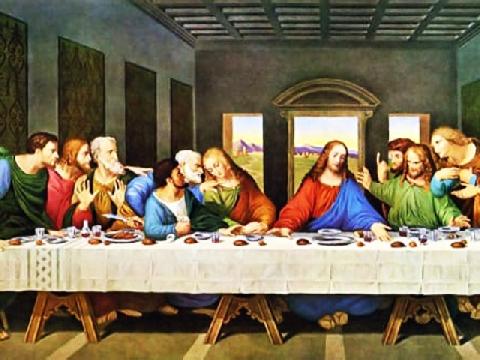 """Những tiên tri bí ẩn trong bức tranh """"bữa tối cuối cùng"""""""