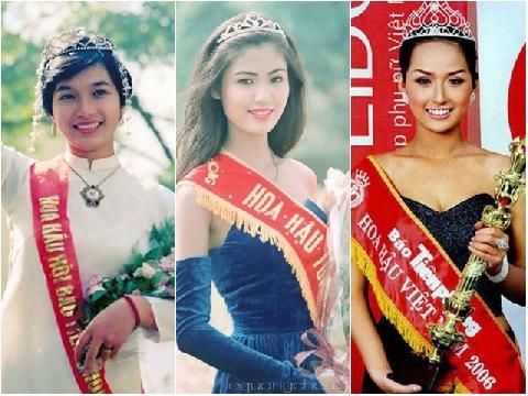 Số phận hoa hậu Việt Nam: Người rực rỡ tỏa sáng, kẻ lận đận truân chuyên