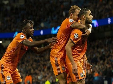 Man City 1-2 Lyon (Bảng F Champions League)