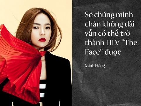 Minh Hằng tuyên bố ''nghiền nát'' team chân dài Thanh Hằng - Võ Hoàng Yến