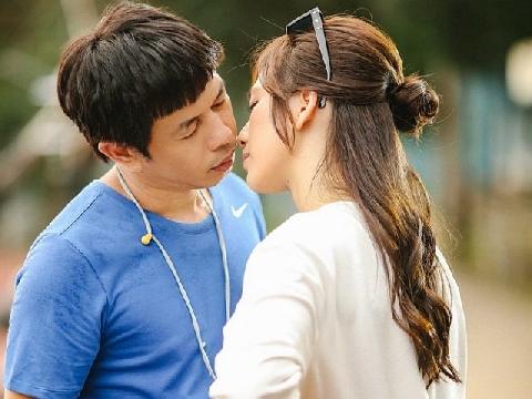 Thái Hòa ngán ngẩm khi phải hôn gái đẹp Phương Anh Đào suốt 2 ngày