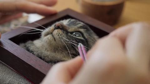 Tranh 3D siêu thực làm từ lông cừu của nghệ sĩ Nhật Bản