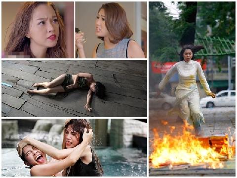 Chao đảo với những màn đánh ghen kinh hoàng trên màn ảnh Việt