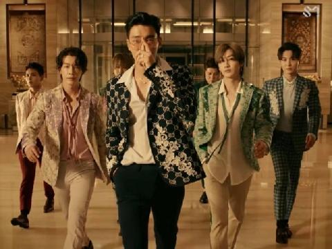 Những ông hoàng Kpop Super Junior tái xuất với MV triệu view One More Time