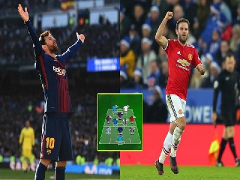 Những bàn thắng đẹp nhất tuần qua: Vinh danh Messi, Mata