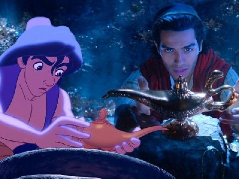 Tuổi thơ ùa về với 'Aladdin' bản người đóng, hé lộ nhan sắc của nam chính