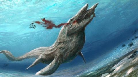 Quái vật biển cổ dài thống trị đại dương thời tiền sử