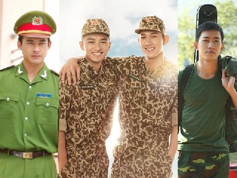 Những chàng 'soái ca quân nhân' Việt khiến fan nữ đổ rầm