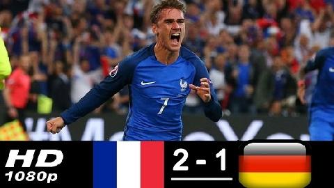 Pháp 2-1 Đức (UEFA Nation League)