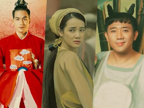 Trấn Thành, Nhã Phương lần đầu đóng phim cổ trang 'Trạng Quỳnh'