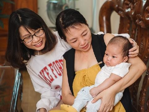 Thanh Trần bật mí bí quyết 'bầu trước cưới' vẫn được mẹ chồng cưng
