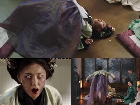 Video cung nữ thời xưa trở thành zombie tấn công người
