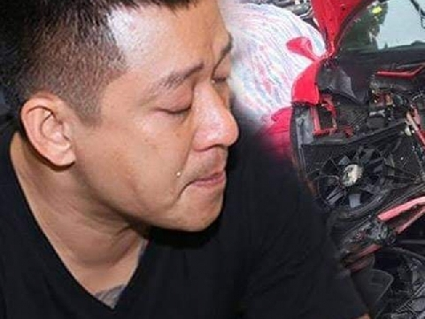 Hậu hủy show, nát siêu xe, Tuấn Hưng lại sốc vì bị tan nạn trúng mắt